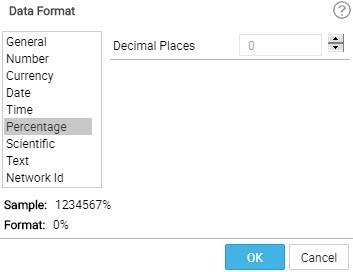 data format-percentage