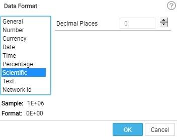 data format-scientific