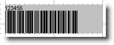 Width of Barcode