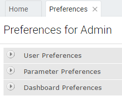 Personalization menu pad