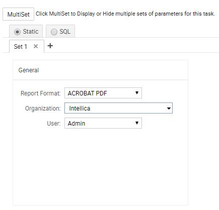 MultiSet Parameters