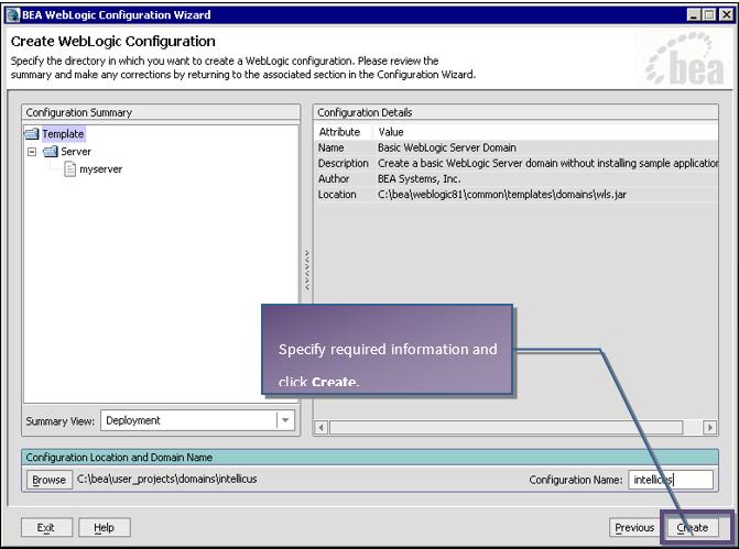 WebLogic Configuration