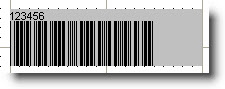 Width in Barcode