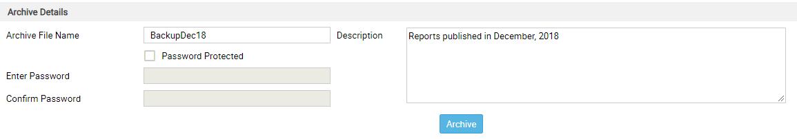 archive details