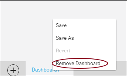 remove Dashboard from Preferences