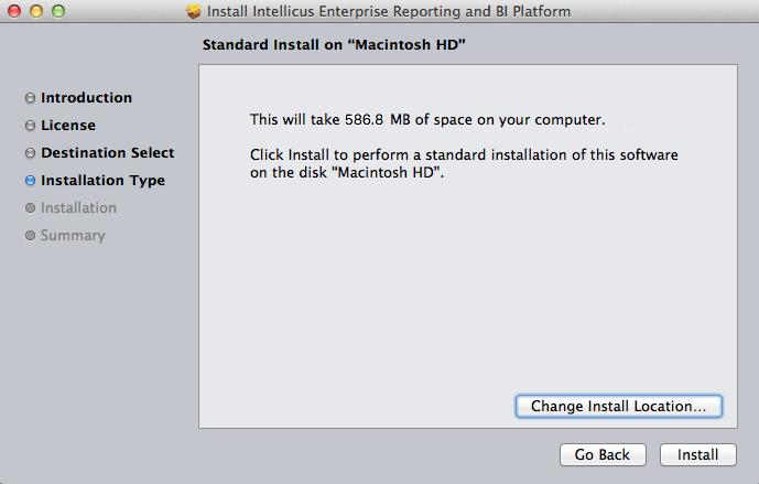 Installation Type Screen