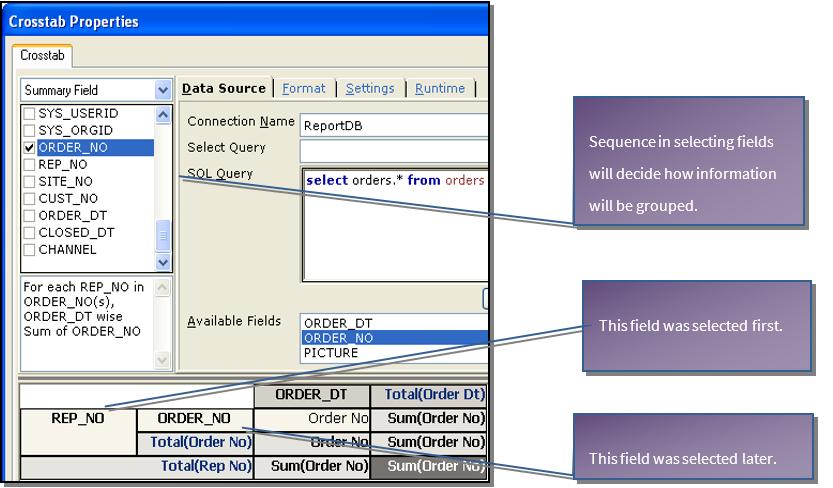 Grouping data