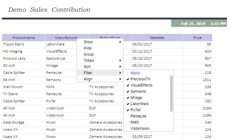 Filter on Multiple Values