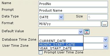 database time zone