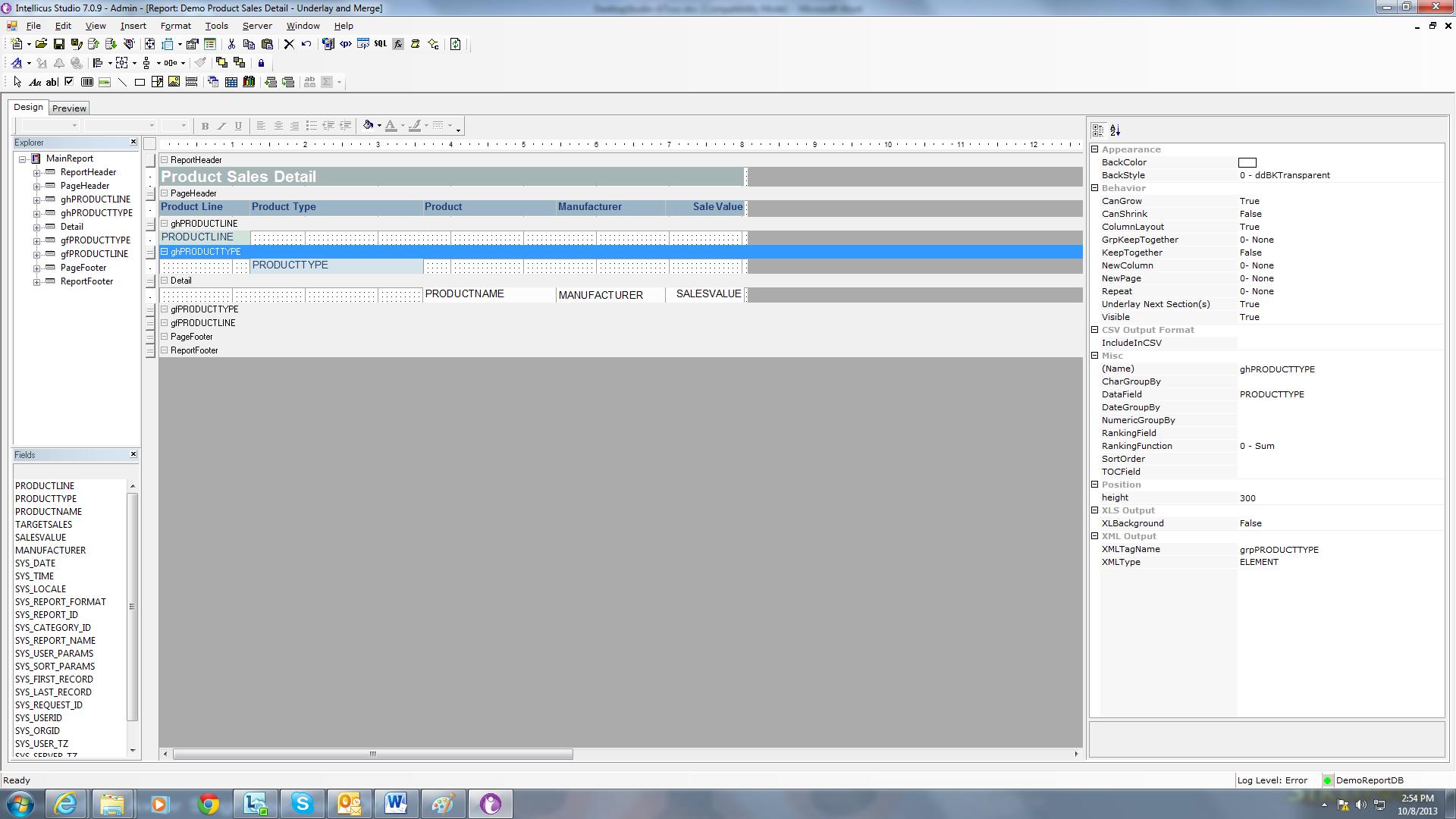 Desktop Studio Screen
