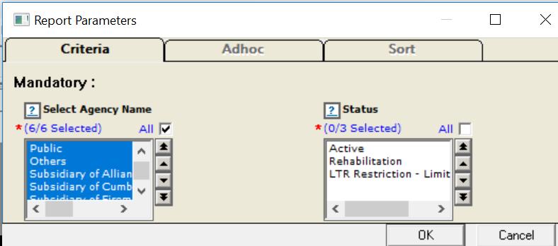 report-parameter