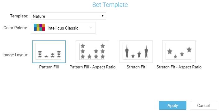 set template