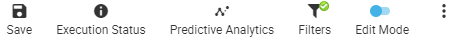 Predictive analytics and What-if analysis options