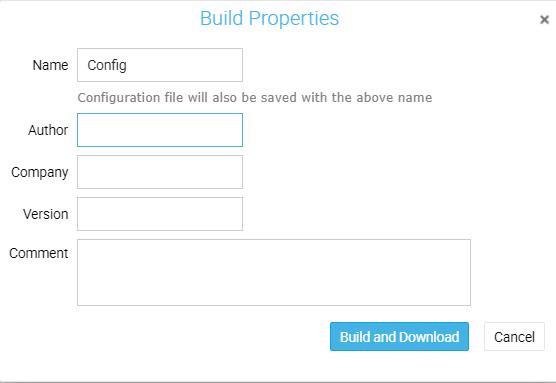Build properties