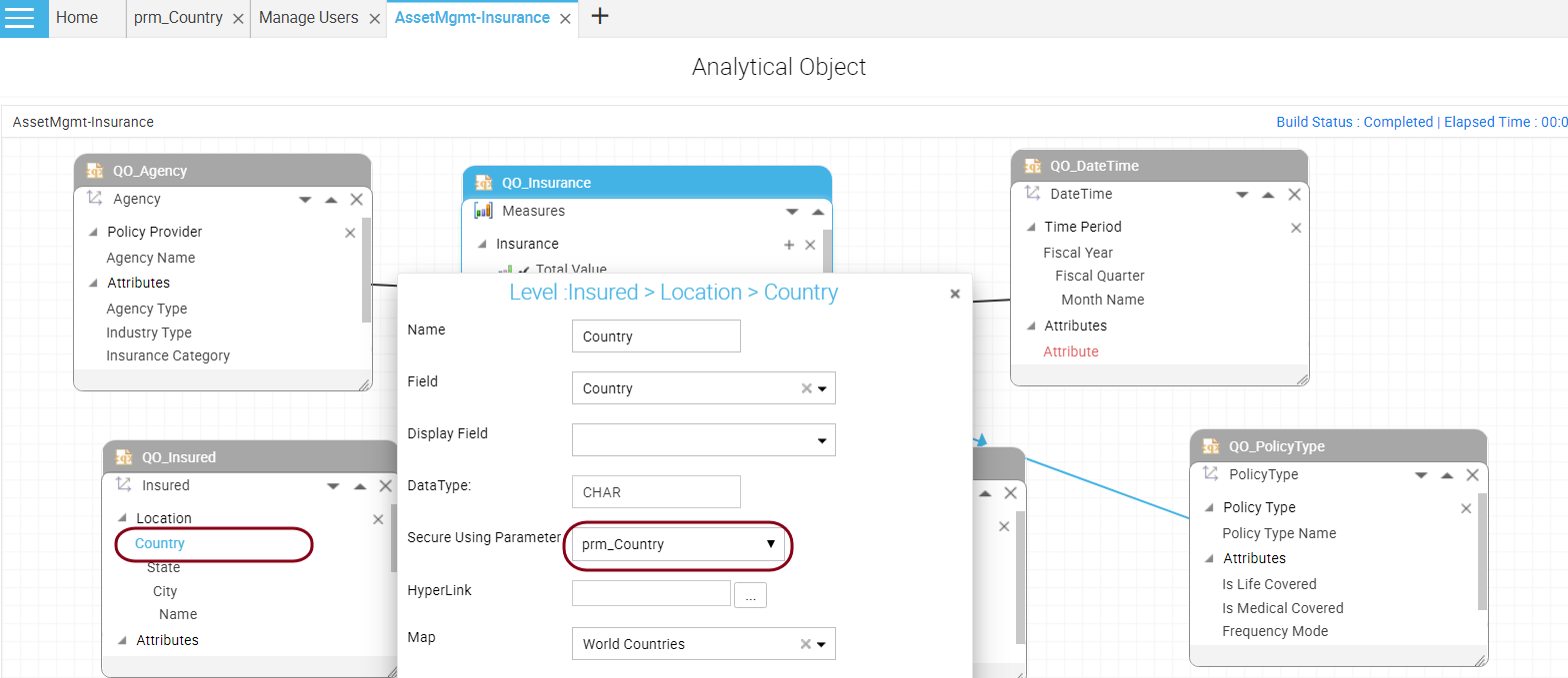 Analytical Object Editor